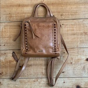 The Sak Loyola leather mini backpack